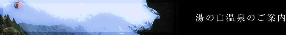 湯の山温泉のご案内