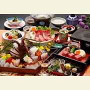 会席料理(彩華の膳)一例
